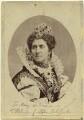 Adelaide Ristori as Queen Elizabeth in 'Elizabeth, Queen of England', by Thomas Houseworth & Co - NPG x19011