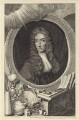 Robert Boyle, by George Vertue, after  Johann Kerseboom, published by  John & Paul Knapton - NPG D30347