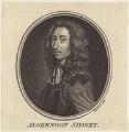 Algernon Sidney, by Guillaume Philippe Benoist, after  Justus van Egmont - NPG D30366