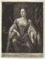 Queen Mary II, published by Nicolaes Visscher II, after  Unknown artist - NPG D32783