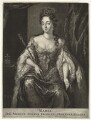 Queen Mary II, published by Nicolaes Visscher II, after  Unknown artist - NPG D32784