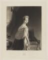 Queen Victoria, by Charles Edward Wagstaff, published by  Hodgson & Graves, after  Thomas Sully - NPG D9186