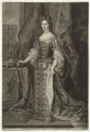 Queen Mary II, by John Faber Jr, published by  John Cooper, after  Sir Godfrey Kneller, Bt - NPG D32785
