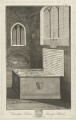 Cawarden's Tombe at Mavesyn Ridware (Thomas Cawarden; Anne Cawarden), by Richard Woollett Basire, after  T. Barritt - NPG D32789