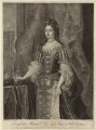 Queen Mary II, by John Faber Jr, printed for and sold by  Robert Sayer, printed for and sold by  John King, after  Sir Godfrey Kneller, Bt - NPG D32786