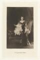 Mrs Cazalet and her Children (Victor Alexander Cazalet; Maud Lucia Cazalet (née Heron-Maxwell); Edward Cazalet), by Frederick John Jenkins, after  John Singer Sargent - NPG D32793