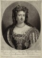 Queen Anne, by and published by John Smith, after  Sir Godfrey Kneller, Bt - NPG D32795