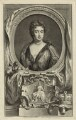 Queen Anne, by Jacobus Houbraken, published by  John & Paul Knapton, after  Sir Godfrey Kneller, Bt - NPG D32797