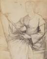 Elizabeth Eleanor Rossetti (née Siddal), after Dante Gabriel Rossetti - NPG P1273(2a)
