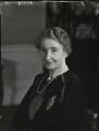 Augusta Helen Elizabeth (née Boyle), Viscountess Caldecote, by Bassano Ltd - NPG x154010