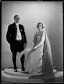 Hugh Aglionby Shore, 6th Baron Teignmouth; Anna Adelaide Caroline Shore (née Marsh), Lady Teignmouth;, by Bassano Ltd - NPG x154058