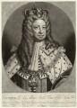 King George I, by Peter Pelham, published by  Edward Cooper, after  Sir Godfrey Kneller, Bt - NPG D32837