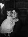 Stéphanie Gauntlett (née du Val de Beaulieu); Enid Nancy Thomasine (née Loebl), Countess du Val de Beaulieu, by Bassano Ltd - NPG x154071