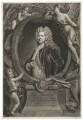 Sir Godfrey Kneller, Bt, by John Faber Jr, printed and sold by  Robert Sayer, printed and sold by  John King, after  John Vanderbank, after  Sir Godfrey Kneller, Bt - NPG D30410