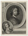 Sir Godfrey Kneller, Bt and John Zacharias Kneller, by Thomas Chambers (Chambars), after  Sir Godfrey Kneller, Bt - NPG D30411