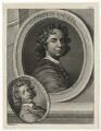 Sir Godfrey Kneller, Bt and John Zacharias Kneller, by Thomas Chambers (Chambars), after  Sir Godfrey Kneller, Bt - NPG D30411