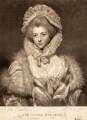 Lavinia Spencer (née Bingham), Countess Spencer, by Charles Howard Hodges, after  Sir Joshua Reynolds - NPG D9189
