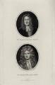 William van de Velde the Elder and William van de Velde the Younger, by William Bond, after  Sir Godfrey Kneller, Bt - NPG D30425