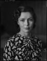 Patricia Erskine (née Norbury), by Bassano Ltd - NPG x154145