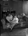 Patricia Erskine (née Norbury); Niall Stuart Erskine, by Bassano Ltd - NPG x154147