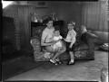 Patricia Erskine (née Norbury); Niall Stuart Erskine; Duncan FitzGerald Erskine, by Bassano Ltd - NPG x154149