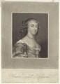 Frances Teresa Stuart, Duchess of Richmond and Lennox, by James Thomson (Thompson), after  Sir Peter Lely - NPG D30485