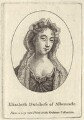 Elizabeth Monck (née Cavendish), Duchess of Albemarle, after Unknown artist - NPG D30497