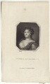 Louise de Kéroualle, Duchess of Portsmouth, by Edward Scriven, after  Samuel Cooper - NPG D30504