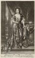 Louise de Kéroualle, Duchess of Portsmouth, by Isaac Beckett, after  Sir Godfrey Kneller, Bt, published by  Edward Cooper - NPG D30507