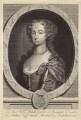 Mary, Duchess of Beaufort, by Joseph Nutting, after  Robert Walker - NPG D30510