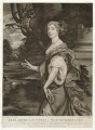 Elizabeth Montagu (née Wriothesley), Countess of Montagu, by and published by Thomas Watson, published by  Walter Shropshire, after  Sir Peter Lely - NPG D30515