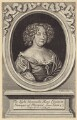 Mary Rich (née Boyle), Countess of Warwick, by Robert White, after  Unknown artist - NPG D30525