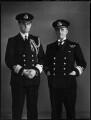 Sir Ronald Vernon Brockman; Henry Stafford Brockman, by Bassano Ltd - NPG x154219