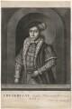 King Edward VI, by and published by John Faber Sr - NPG D32890