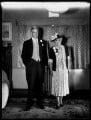 Roy Lister Robinson, 1st Baron Robinson; Charlotte Marion (née Cust), Lady Robinson, by Bassano Ltd - NPG x154239