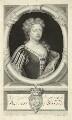 Caroline Wilhelmina of Brandenburg-Ansbach when Princess of Wales, by George Vertue, after  Sir Godfrey Kneller, Bt - NPG D32894