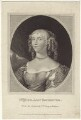 Jane Hyde (née Leveson-Gower), Countess of Clarendon and Rochester, published by John White, published by  John Scott, after  Sir Peter Lely - NPG D30535