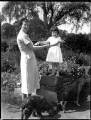 Hélène Candida Berry (née Hay), Viscountess Kemsley; Hon. Mary Anne van Raalte (née Berry), by Bassano Ltd - NPG x153101