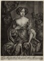 Anne Montague, after Sir Peter Lely, published by  Richard Tompson - NPG D30544