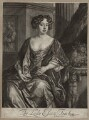 Essex Finch (née Rich), Countess of Nottingham, by Jan van der Vaart, after  Sir Peter Lely, published by  Richard Tompson - NPG D30545
