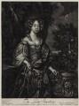 Elizabeth Lyon (née Stanhope), Countess of Strathmore, after Sir Peter Lely, published by  Alexander Browne - NPG D30557