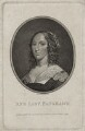 Ann (née Harrison), Lady Fanshawe, by Franz Gabriel Fiesinger, published by  T. Cadell & W. Davies, after  Cornelius Johnson - NPG D30568