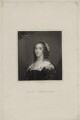 Ann (née Harrison), Lady Fanshawe, probably by Henry Meyer, published by  Henry Colburn, after  Cornelius Johnson - NPG D30571