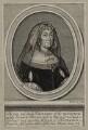 Elizabeth Roydon (née Thorowgood), Lady Roydon, by Robert White, after  Unknown artist - NPG D30572