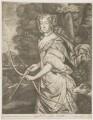 Jane Kelleway as Diana, published by Alexander Browne, after  Sir Peter Lely - NPG D30603