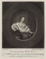 Eleanor ('Nell') Gwyn, by Valentine Green, published by  Walter Shropshire, after  Sir Peter Lely - NPG D30625