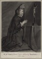 Mary Knight, by John Faber Jr, after  Sir Godfrey Kneller, Bt - NPG D30630