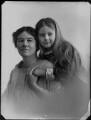 Lettice Fisher (née Ilbert); Mary Letitia Somerville Bennett (née Fisher), by Bassano Ltd - NPG x154372