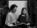 Lettice Fisher (née Ilbert); Mary Letitia Somerville Bennett (née Fisher), by Bassano Ltd - NPG x154373