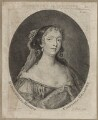 Elizabeth Hamilton, Countess de Gramont, by George Powle, after  Sir Peter Lely - NPG D30649